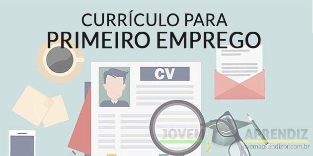 currículo para primeiro emprego