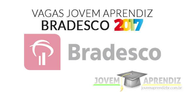 Vagas Jovem Aprendiz Bradesco 2017