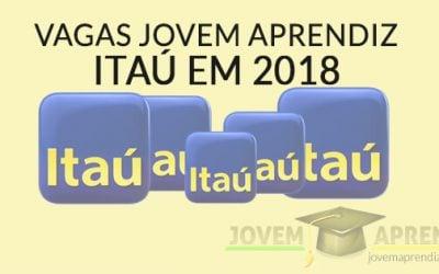Vagas Jovem Aprendiz Itaú 2018