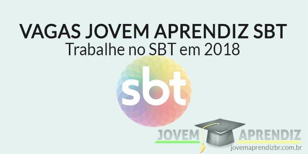Vagas Jovem Aprendiz SBT 2018