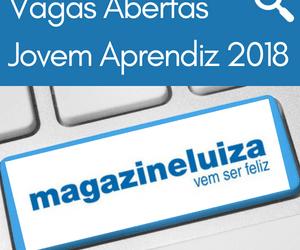 Magazine Luiza – Vagas Abertas Jovem Aprendiz 2018