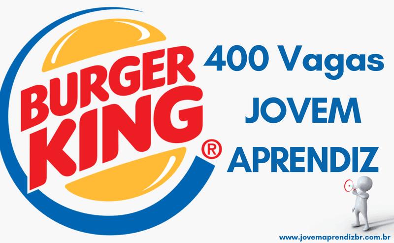 Burger King Jovem Aprendiz
