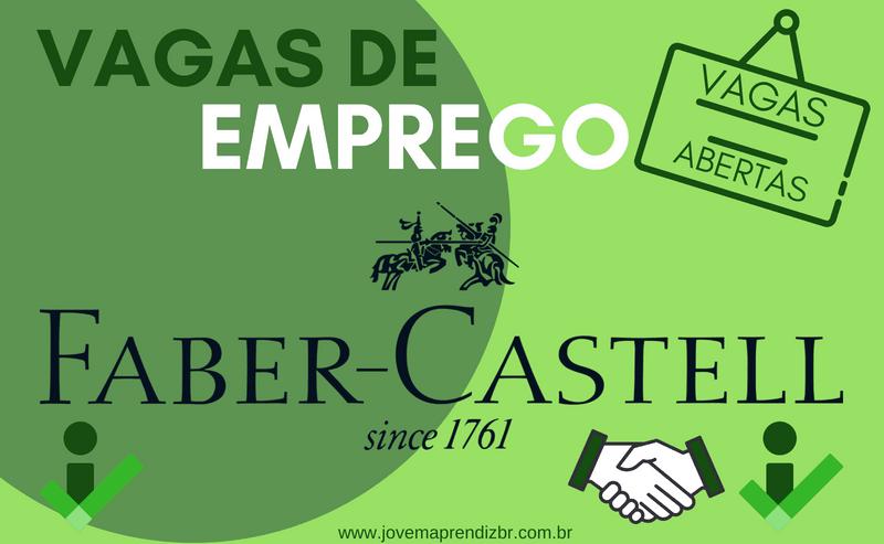 VAGAS DE EMPREGO FABER CASTELL