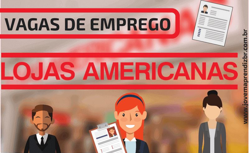 Vagas de Emprego Lojas Americanas
