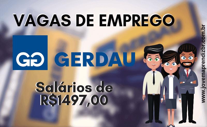 Vagas de Emprego Gerdau