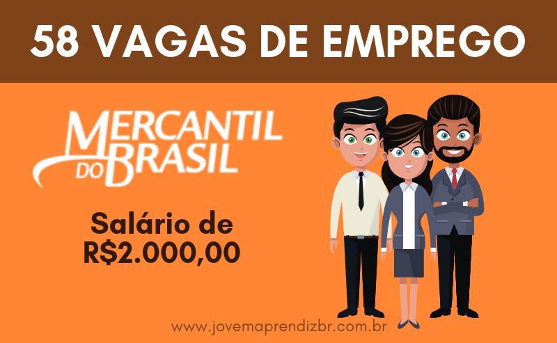 Vagas de Emprego Mercantil do Brasil