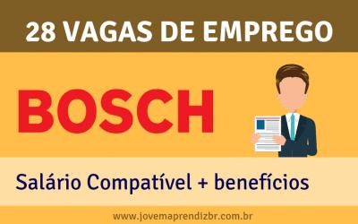 Vagas de Emprego Bosch