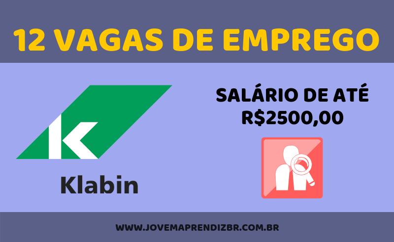 Vagas de Emprego Klabin