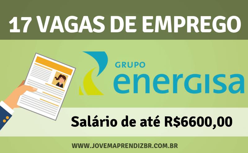Vagas de Emprego Grupo Energisa