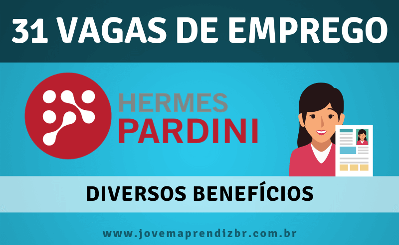 2ba6a8bbe14 Vagas de Emprego Hermes Pardini - Jovem Aprendiz 2019