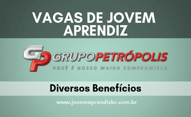 Jovem Aprendiz Grupo Petrópolis