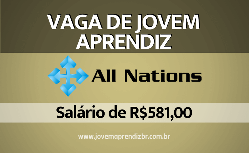 Jovem Aprendiz All Nations