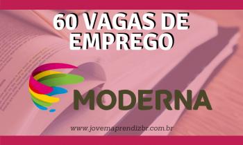 Vagas de Emprego Editora Moderna