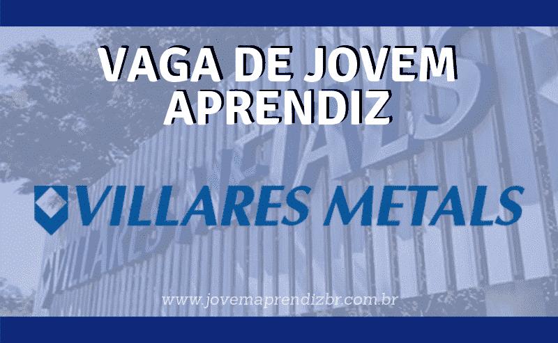 Jovem Aprendiz Villares Metals