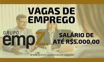 Vagas de Emprego Grupo EMPZ