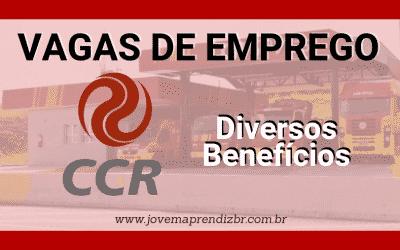 Vagas de Emprego Grupo CCR