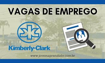 Vagas de Emprego Kimberly Clark