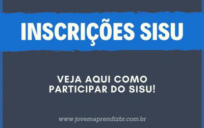 Inscrições SISU 2020 – Veja Como Fazer a Sua!