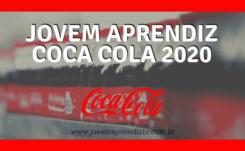 jovem aprendiz coca cola 2020
