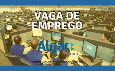 Vaga de Emprego Grupo Algar