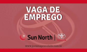 Vaga de emprego Sun North Toyota
