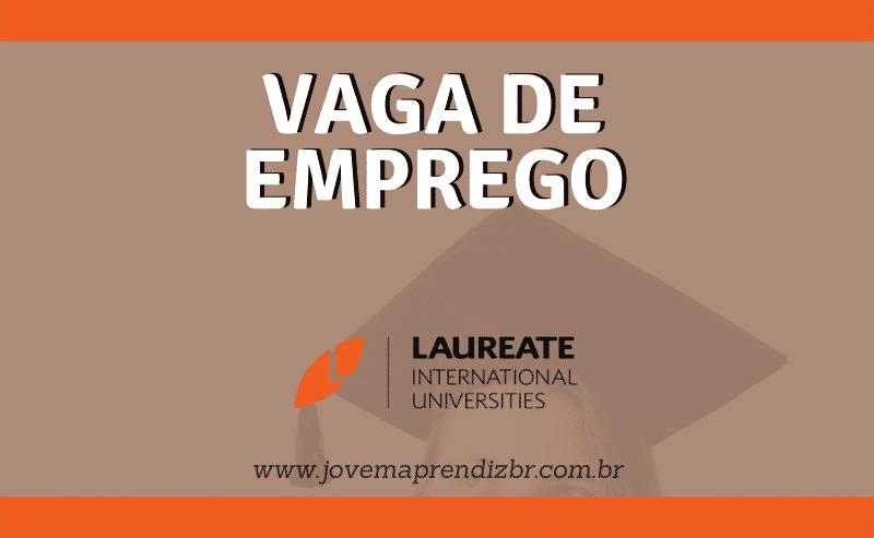 Vaga de Emprego Laureate