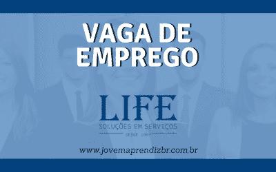 Vaga de emprego Life Recursos Humanos