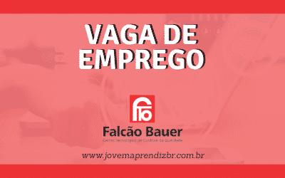 Vaga de Emprego Falcão Bauer