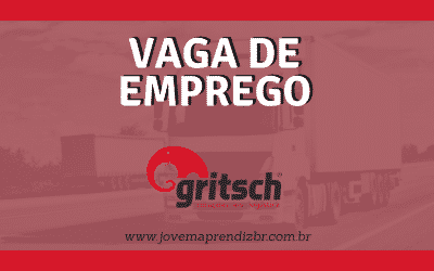 Vaga de emprego Transportes Gritsch